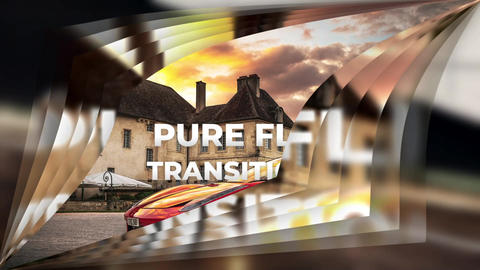 Pure Flip Transitions After Effects Template
