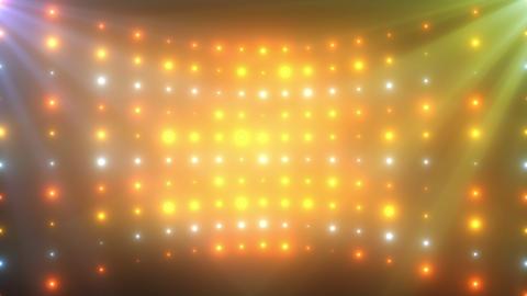 stage glow LED light loop animation