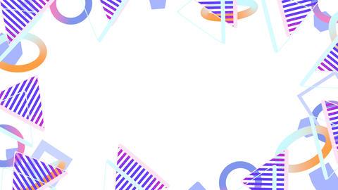 Basic Shape Motion Graphics B Animation