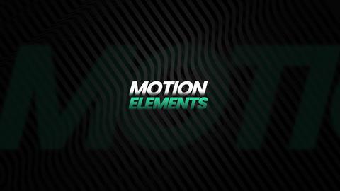 Dynamic Slide 02 Apple Motion Template