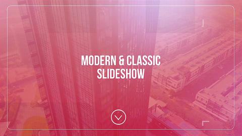 Modern & Classic Slideshow Apple Motion Template