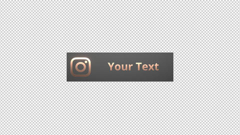 3D Social Media Lower Thirds Motion Graphics Template