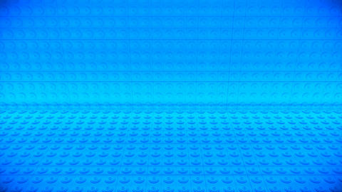 Broadcast Passing Hi-Tech Speakers Wall Stage, Blue, Events, 3D, 4K Animation