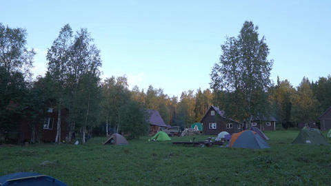 Glade Among the Forest on which the Tents and Houses stand. Place of Rest, Rest Live Action