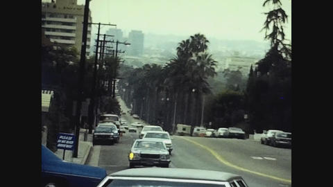 Los Angeles, USA 1979, Los Angeles street view 4 Live Action