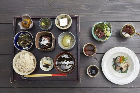 Braided Island Vegetable Cafeteria Tea;Japan Photo