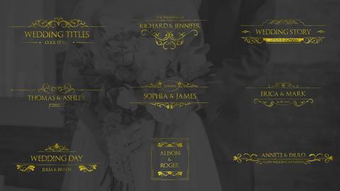 Gold Wedding Titles
