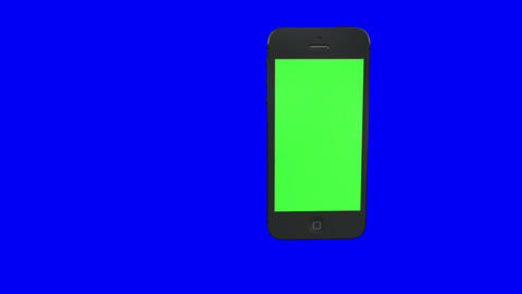 cellphone green screen HD loop Stock Video Footage
