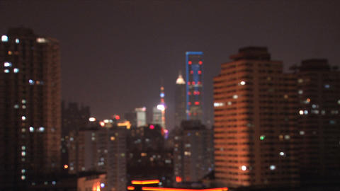 Shanghai city Stock Video Footage