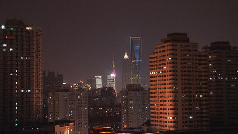 Shanghai city Stock Video Footage