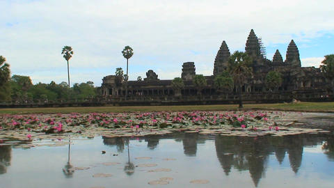 angkor wat 04 Stock Video Footage