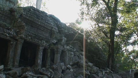 angkor wat 06 Stock Video Footage