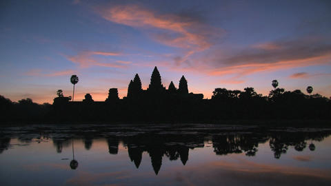 Ankor wat Timelapse fast Stock Video Footage