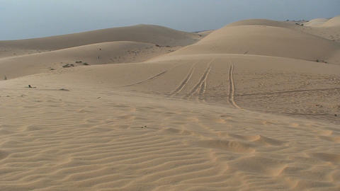 sanddune motor Stock Video Footage