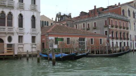 canal grande 01 Stock Video Footage