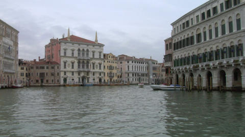 canal grande 03 Stock Video Footage