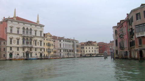 canal grande 12 Stock Video Footage