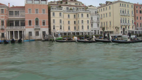 canal grande 14 Stock Video Footage