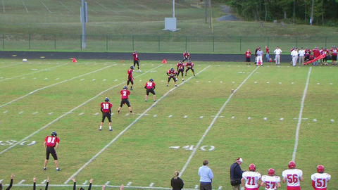 Kickoff Team Forces Fumble Stock Video Footage