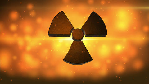 Radiation Background Hd stock footage
