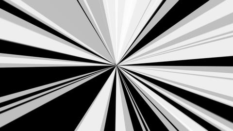 white radial rays with alpha Stock Video Footage