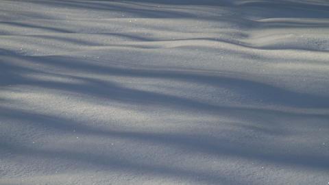 snow shadows Stock Video Footage