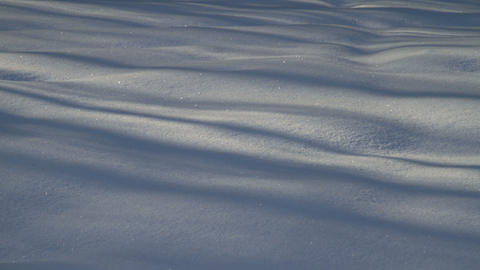 Snow Shadows stock footage