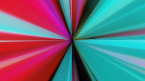 radial retro ray with alpha Stock Video Footage