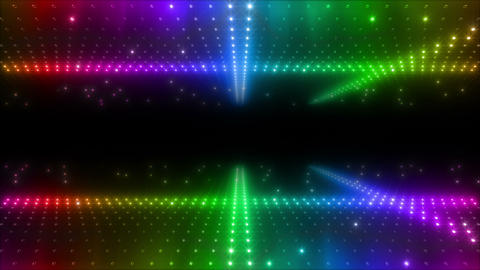 LED Wall 2 W Ds M 1g HD Stock Video Footage