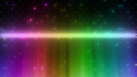 LED Wall 2 W Hs Mg HD Stock Video Footage