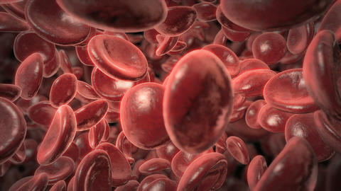 Red Blood Cell Background Loop stock footage