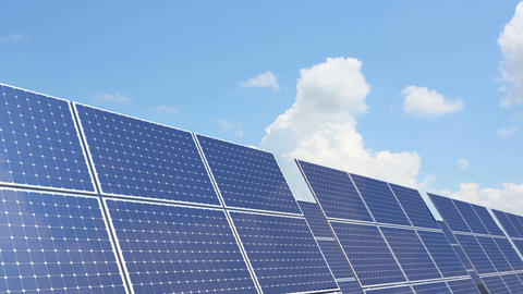 Solar battery 3 Stock Video Footage