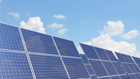 Solar Battery 3 stock footage