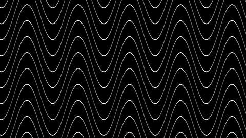 wave line twirl with alpha Animation