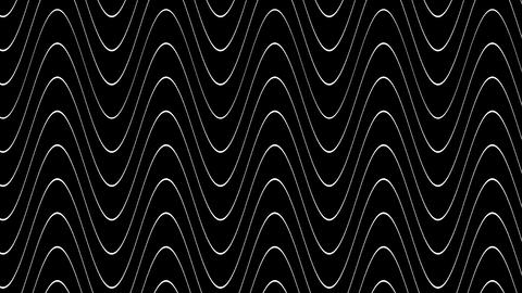 wave line twirl with alpha Stock Video Footage