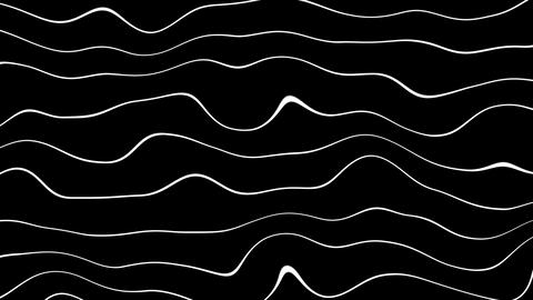 twirly wave lines with alpha Animation