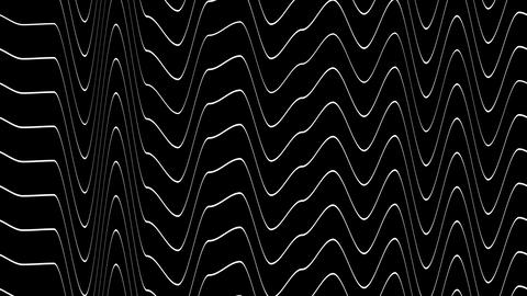 stripe wave noise with alpha Stock Video Footage
