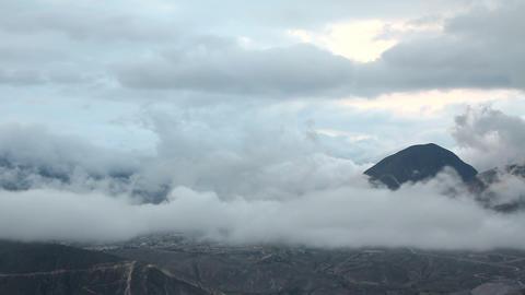 Rain cloud time lapse Stock Video Footage