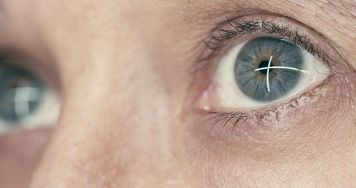 Rack focus eye to eye Animation