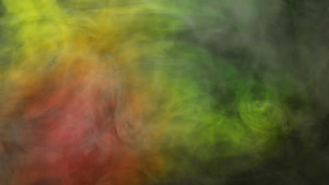 Rasta Color Smoke Background Animation