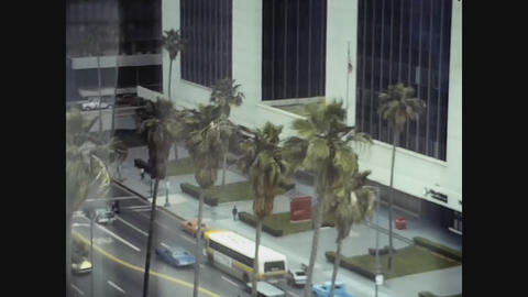Los Angeles, USA 1979, Buildings in Los Angeles Live Action