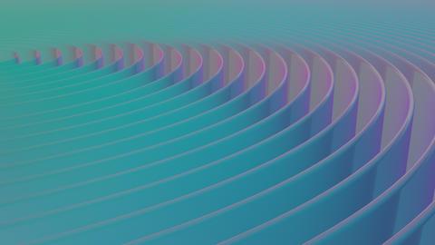 Minimal Abstract Circular Animation Backdrop Animation