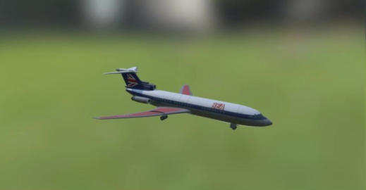 Trident A 3D Model