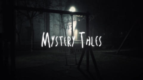 Mystery Tales Title Intro After Effects Template