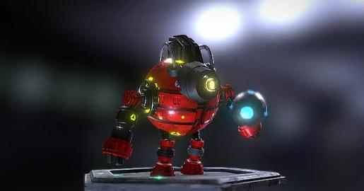 Bot z16 animation S 3D Model