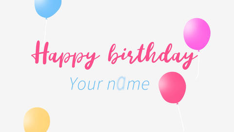 Happy Birthday Opener After Effects Template