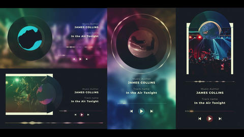 Vinyl Visualizer After Effects Template