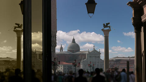 San Marco square Stock Video Footage