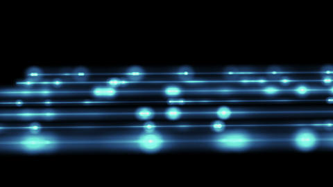 blue blurry technological loopable background Stock Video Footage