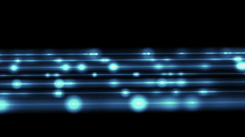 Blue Blurry Technological Loopable Background stock footage